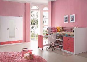 Uniforme tienerkamer 39 brainy 39 roze meisjeskamers tienerkamers pinterest roze - Kleur van meisjeskamers ...