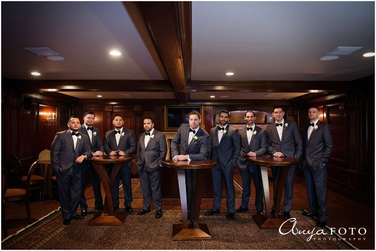 AnyaFoto | NJ Wedding Photographer | Groomsmen