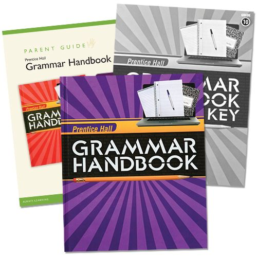 206 best textbooks images on pinterest textbook comic and comic book prentice hall grammar hand book grade 6 homeschool bundle includes the grammar handbook answer key book and parent guide for a through understanding of fandeluxe Image collections
