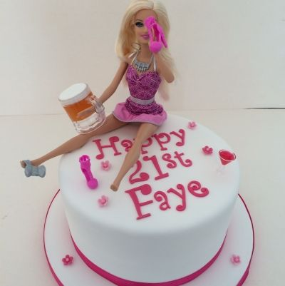 Birthday Cake Designs Barbie : 25+ best ideas about Drunk barbie cake on Pinterest 21 ...