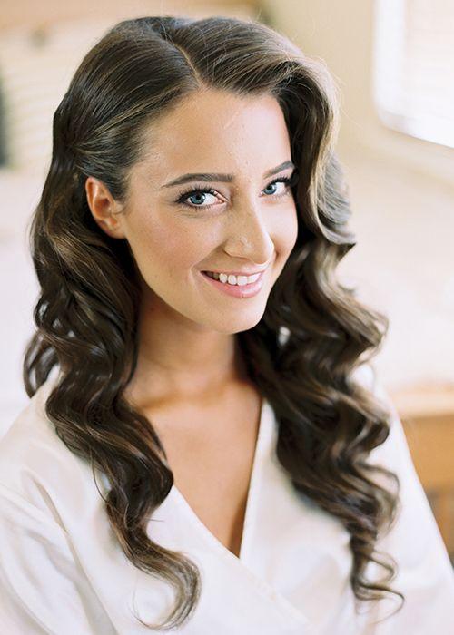 Vintage Wedding Hairstyle - Hollywood Curls | Brides.com