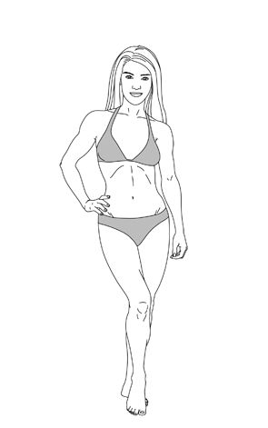 Find out your body type, how to dress for it, exercise for it, and eat for it. : Mesomorph