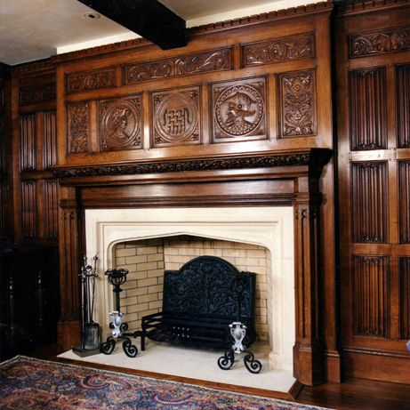 1000 images about fireplace on pinterest fireplaces for Tudor style fireplace