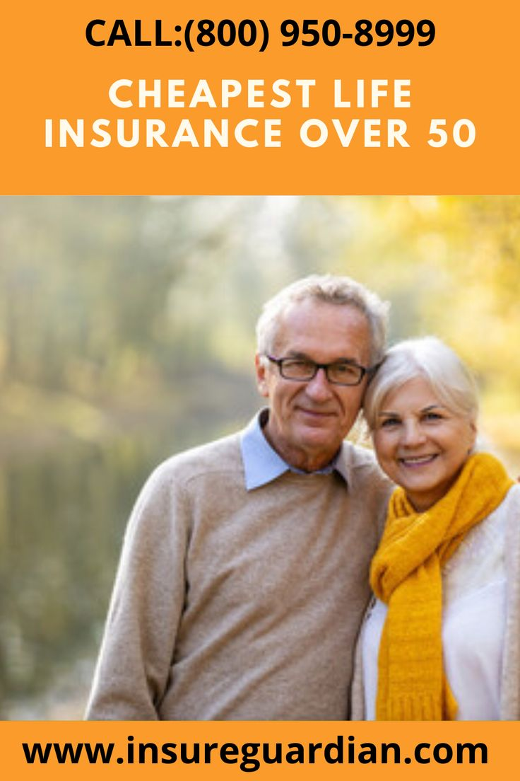 Cheapest life insurance for over 50 in 2020 life