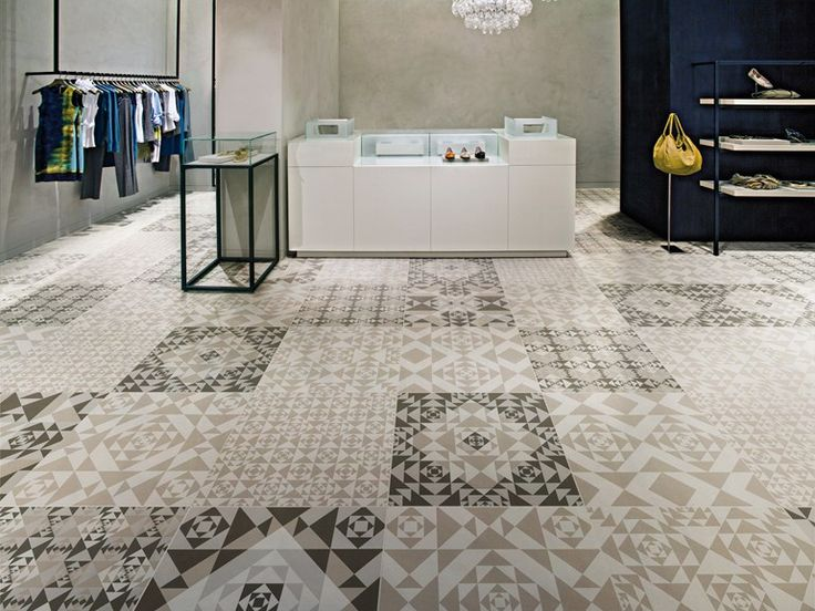 porcelain stoneware floor tiles carpet frame collection by ceramiche refin design studio fm milano - Porcelain Tile Restaurant 2015