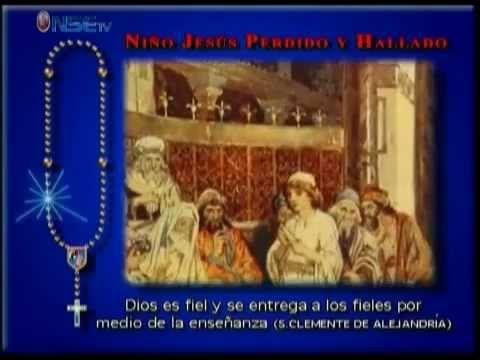 Recemos el Rosario-Lunes y Sabado-(Misterios Gozosos). completo