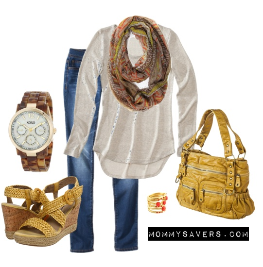 Gold accessories for spring