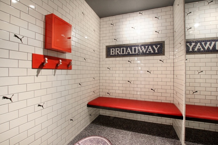 The New PUMA NYC store located in SoHo featuring Imagine Tile!