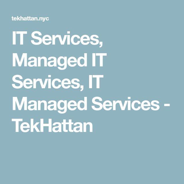 IT Services, Managed IT Services, IT Managed Services - TekHattan