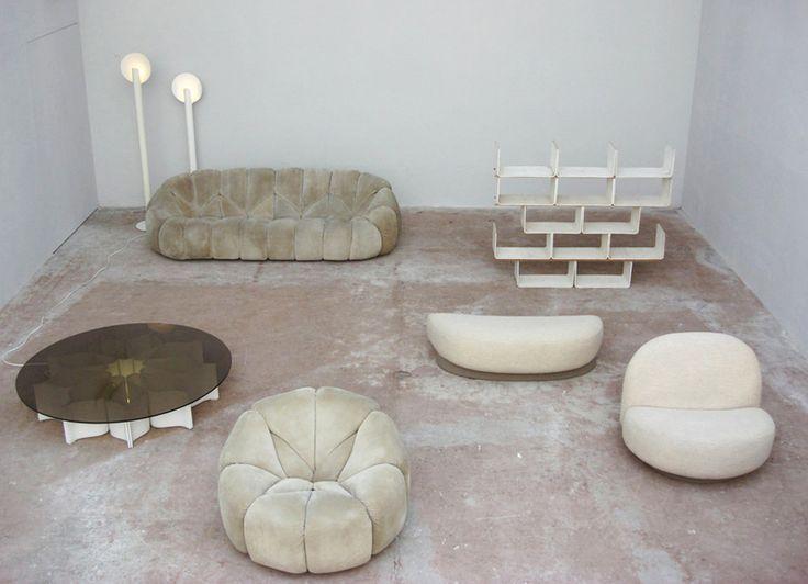"pasthello: ""Pierre Paulin - Superdesigner, 2007 Exhibition display, Villa Noailles, Hyères, France ph. David Dubois """