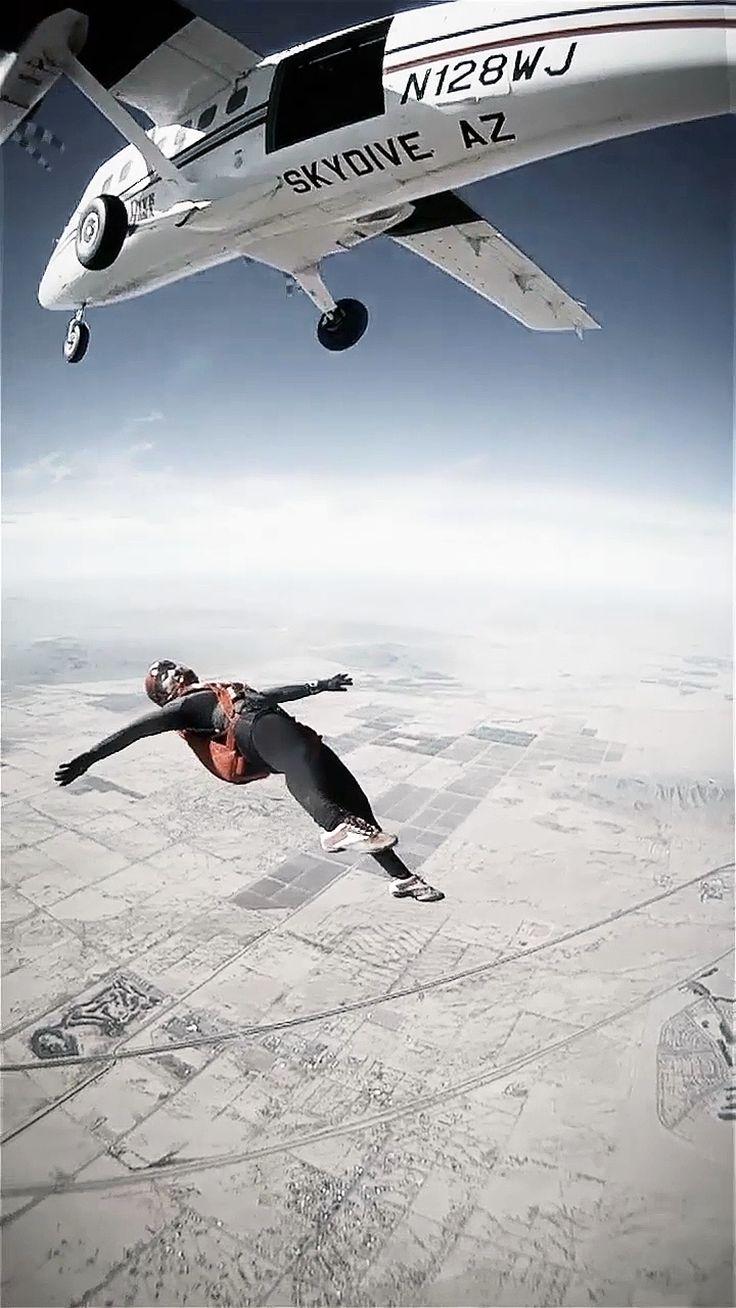 BacktoAwake - skydiving