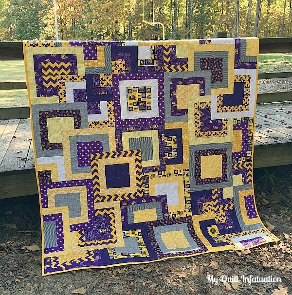 38 Best LSU Quilts Images On Pinterest