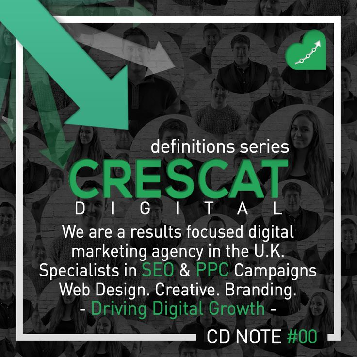 crescatdigitalIntroducing Digital Definitions! Our new series of quick reference terminology on all things #digitalmarketing we hope you enjoy. #digitalmarketingagency #crescatdigital #advertising #digitaldefinitions