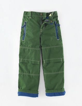 Lined Skate Pants - Shop for women's Pants - Forest Green Pants