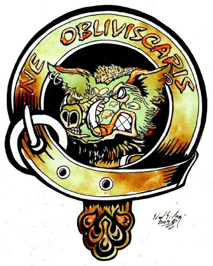 Clan campbell crest by eddietheyeti tattoo ideas for Buchanan clan tattoo