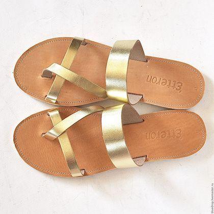 """Обувь ручной работы. Ярмарка Мастеров - ручная работа. Купить Кожаные сандалии """"классические"""" 2. Handmade. Сандалии, натуральная кожа"""
