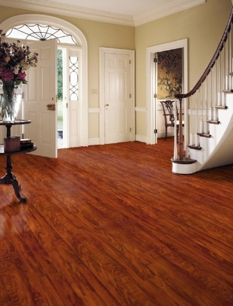 Fantastic Foyer Flooring: Fruitwood By Congoleum Flooring. Made In The USA!