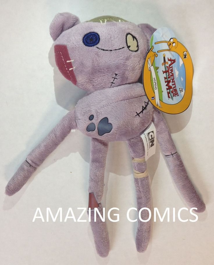 "Adventure Time with Finn & Jake: HAMBO 8"" Plush Toy by Jazwares"