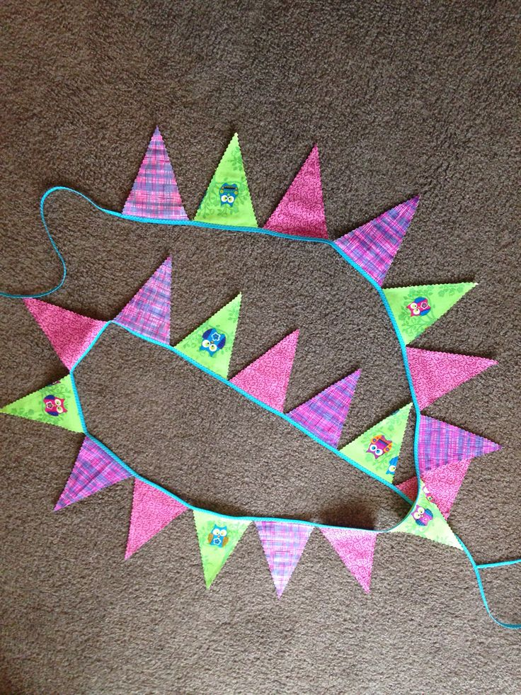 Bunting for Maddison