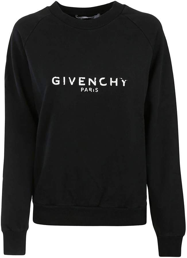 1007b15ffff0 Givenchy Distressed Logo Sweatshirt