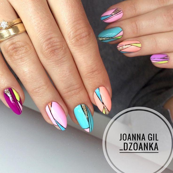 Wiosna! @indigonails #indigo #indigolove #indigonails #indigolicious #nails #nailart #nailholic #nailstyle #nailartist #f4f #follow4follow…