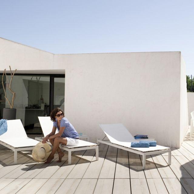 54 best Lits piscine, chaises longues et transats images on - outdoor mobel set tribu
