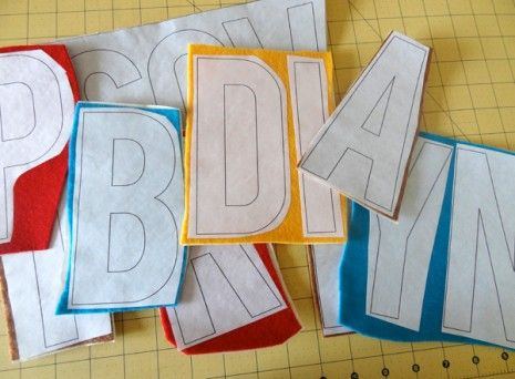 DIY TUTORIAL: How to Make a Felt Letter Garland for All Occasions