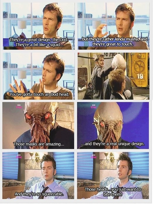David Tennant everyone....squeezable oods. I mean look at his face!
