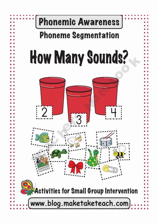 Phoneme Segmentation Bluebirds Pinterest