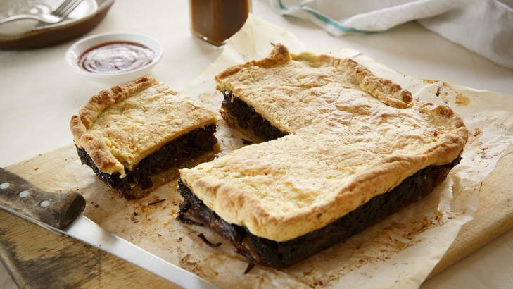 Dig in for one of MoVida's most popular recipes: Beef and mushroom pie with a Spanish twist.