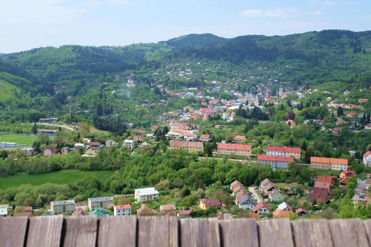 Výhľad na mesto z kalvárie
