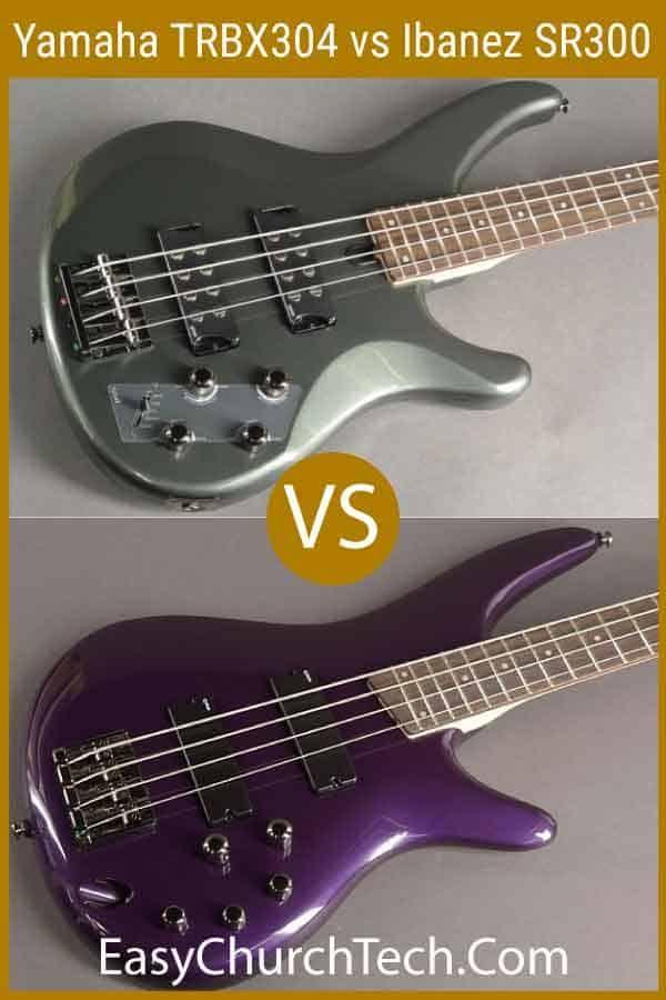 Yamaha Trbx304 Vs Ibanez Sr300 Head To Head Comparison Yamaha Guitar Bass Guitar Scales Learn Bass Guitar