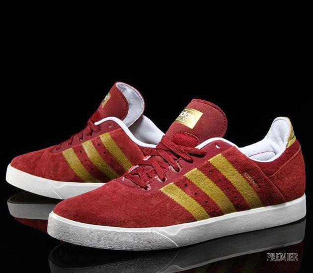 adidas Skateboarding Busenitz ADV – Cardinal / Metallic Gold