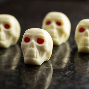 Chocolate Skulls | From trick or treating and pumpkin carving, to watching scary movies and having a party, there's so much you can enjoy on the spookiest night of the year. Time to get Halloween-ready with tasty treats.