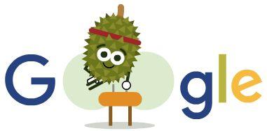 Día 15 de los Doodles de Juegos de Frutas 2016. Entérate más en g.co/fruit
