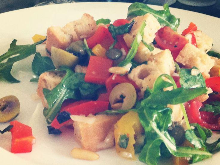 Italienischer Brotsalat | The Vegetarian Diaries