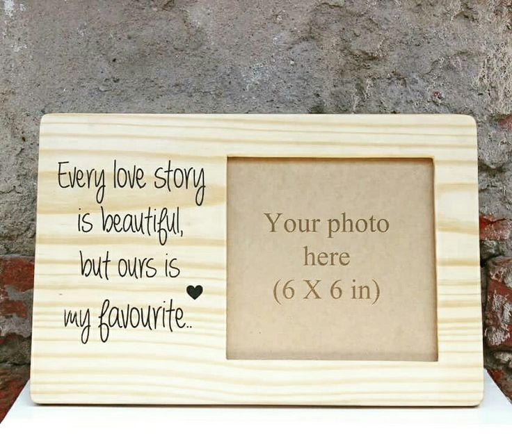 Wooden photoframe , a perfect gift.