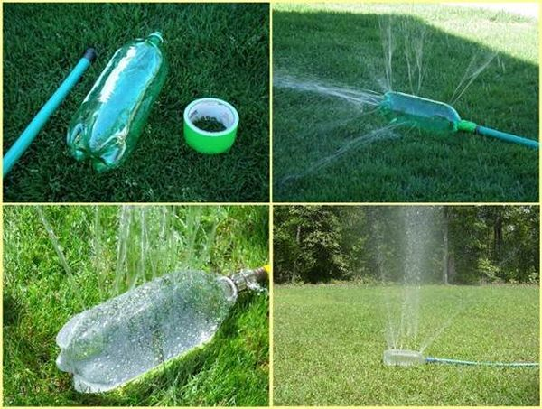 Les 25 meilleures id es concernant arrosage pelouse sur - Arrosage automatique bouteille ...