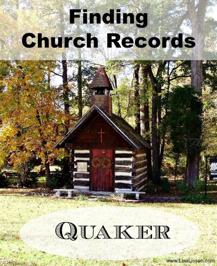 Just as other churches and denominations recorded events in their religious life, the Quakers did as well. Friends were thorough record keepers and their records date back into the 1600′s. Great for your genealogy research!