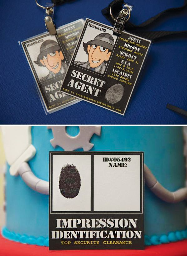 Inspector Gadget Birthday Party {Go, Go Gadget Birthday!} // Hostess with the Mostess®