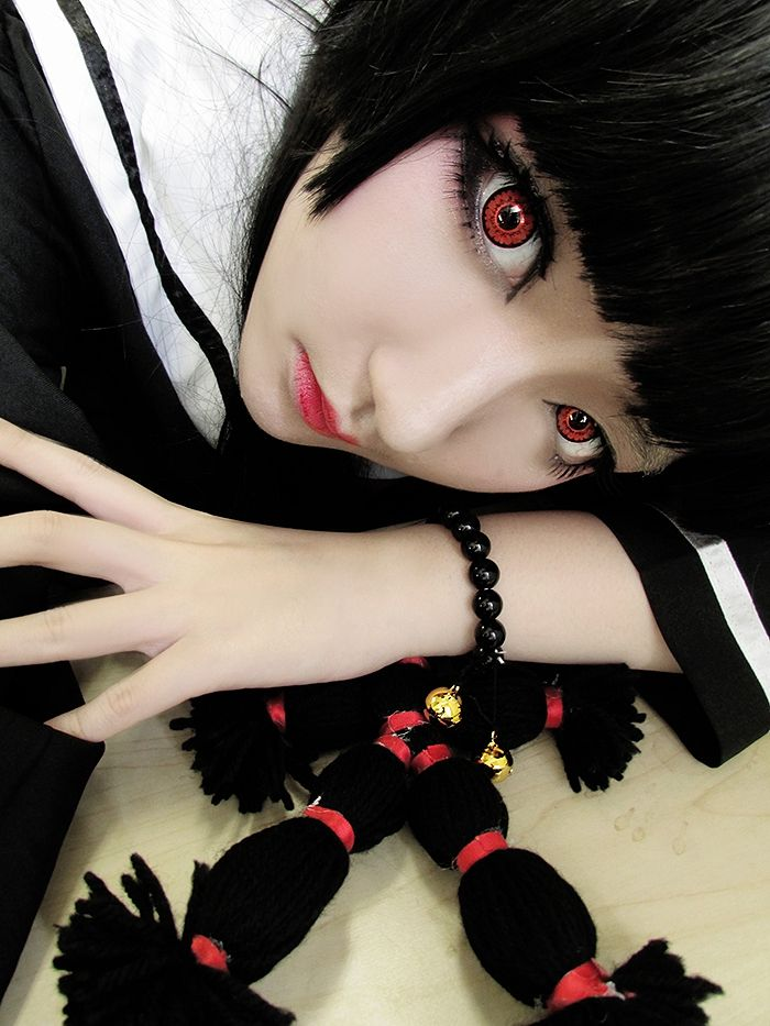 ☆ #CosplayStyle☆ #hellgirl (地獄少女 Jigoku Shōjo?)