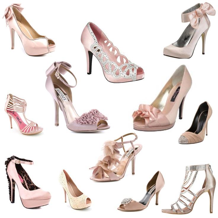 Blush Pink Weding Shoes 034 - Blush Pink Weding Shoes