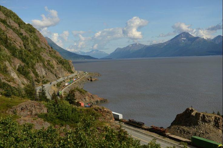 Photos: Windy Corner Seward Highway project | Alaska Dispatch News