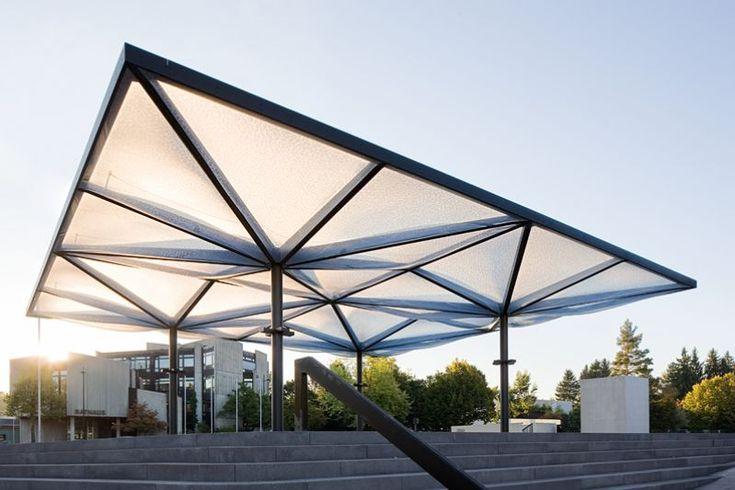 Community center, Unterföhring – pneumatic ETFE roof