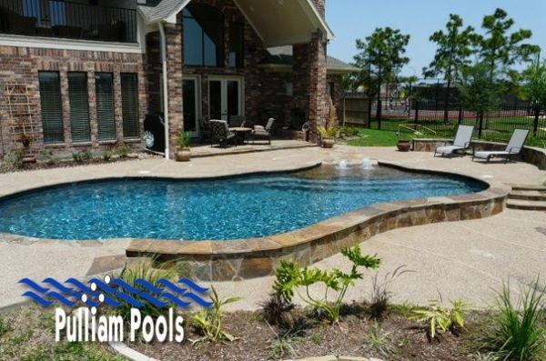 17 best beautiful beach entry pool images images on for Pool design katy