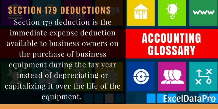 What is Section 179 Deduction? Definition, Eligibility