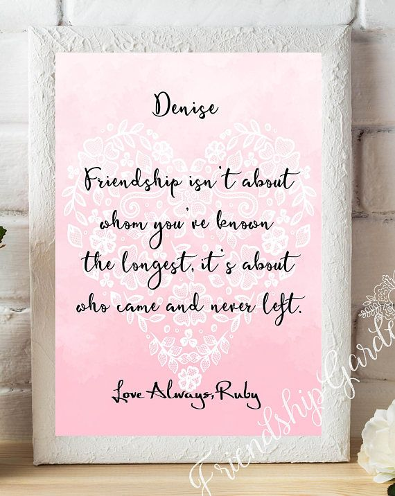 Best Friend Gifts For Personalized
