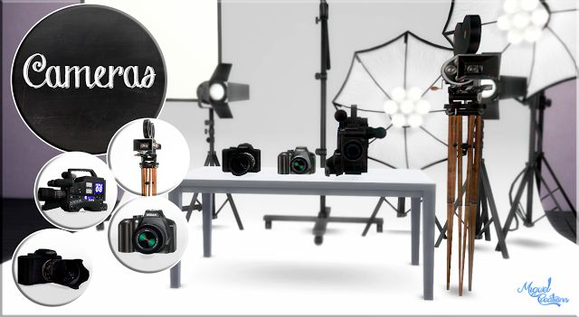 Sims 4 CC's - The Best: Cameras by MiguelCreations
