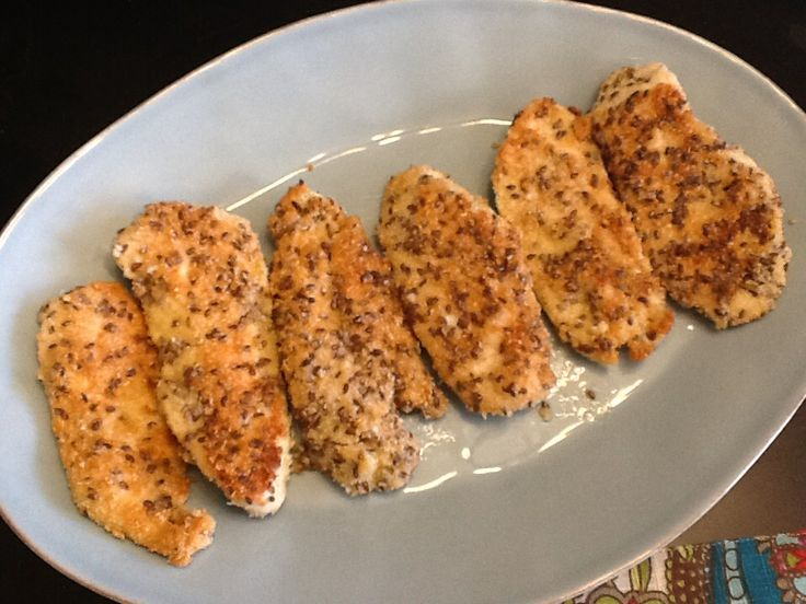Dolce Diet recipe: second time around on Tropical Coconut Chicken. Used whole flaxseeds instead of ground flaxseeds. Still so good.