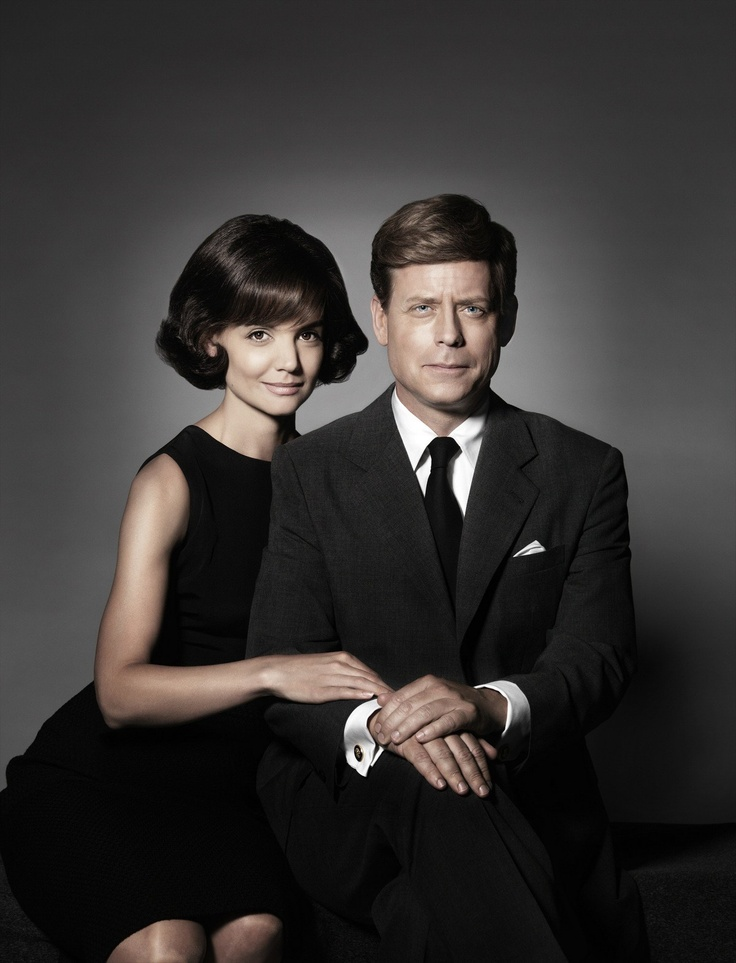 Katie Holmes and Greg Kinnear in The Kennedys by Jon Cassar
